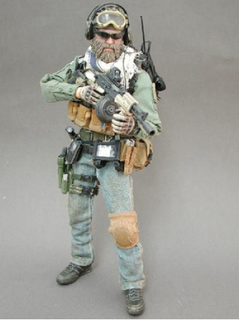 【Hot Toys】【M/SF/071024】 P.M.C. Operator (2007 Version) 1/6 フィギュア